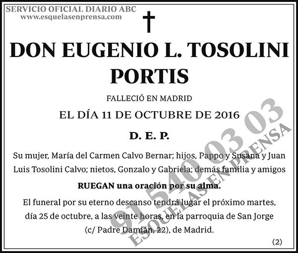 Eugenio L. Tosolini Portis